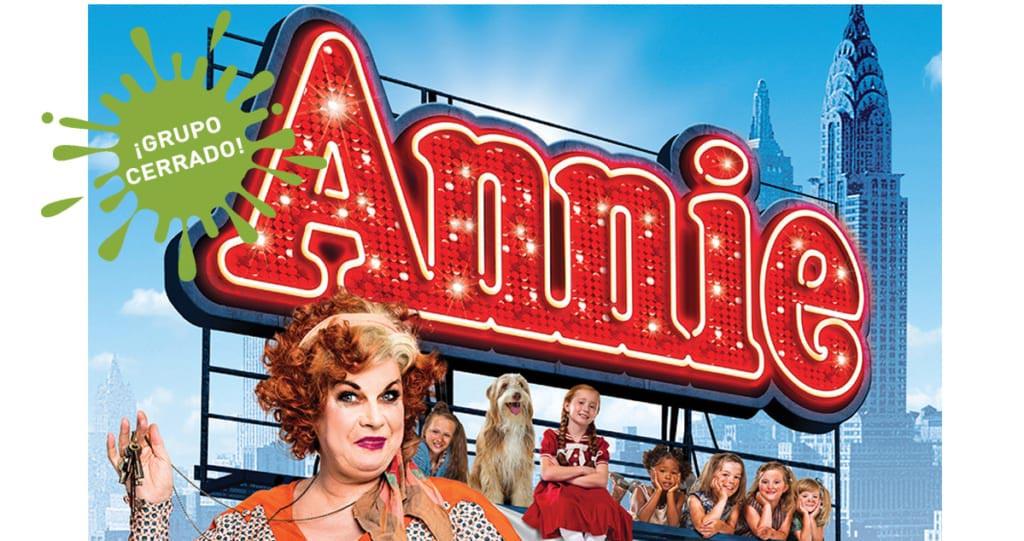 Annie per la web grupo cerrado