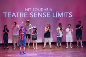 la Nit Solidària a Caixa Forum.