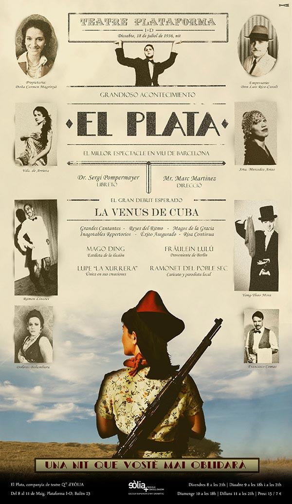 CARTELL EL PLATA - EOLIA