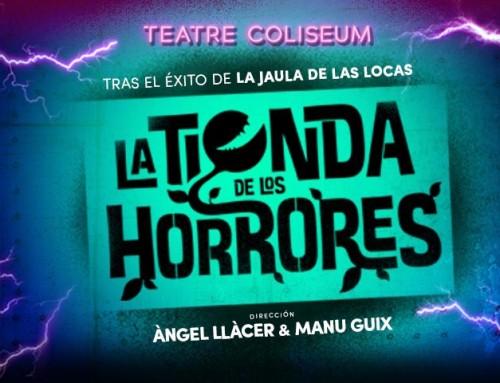 """""""La tienda de los horrores"""" amb Marc Pociello, Yolanda Sey, Kathy Sey, Diana Roig i Daniel Meyer."""
