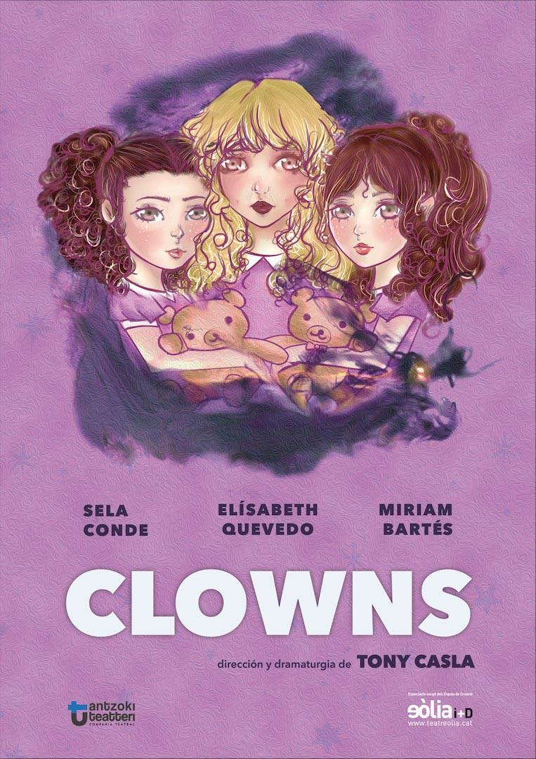 Cartell de Clowns, de Tony Casla