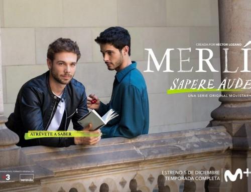 "Carlos Cuevas a la sèrie ""Merlí. Sapere aude"" de Movistar +"