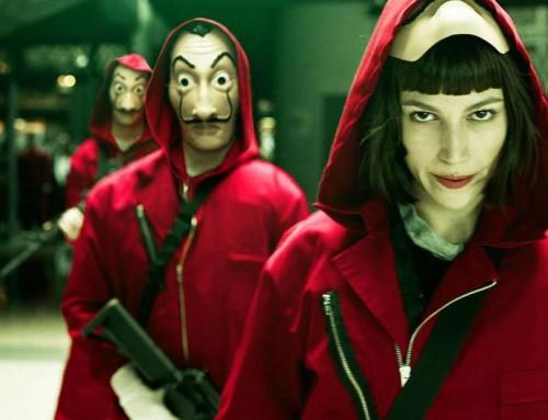 """Apunt d'estrenar la 4a temporada de """"La casa de papel"""" a Netflix amb Ursula Corberó."""