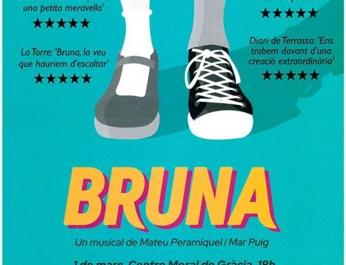 L'Ona Puig alumna d'El Planter, protagonista al musical Bruna, de Mateu Peramiquel i Mar Puig.