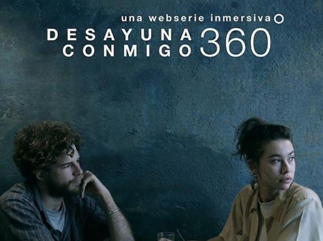Sara Sors i Xesco Palacín de la sèrie Desayuna conmigo 360