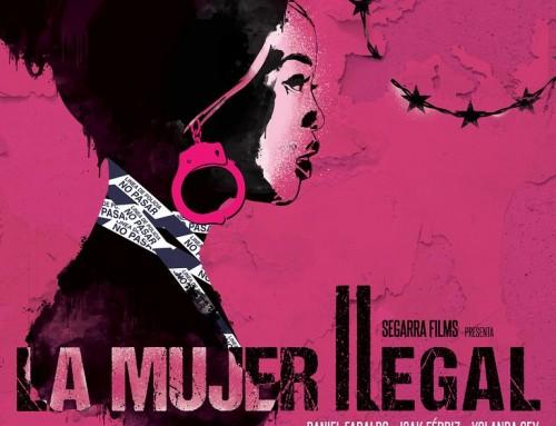 Yolanda Sey com a actriu principal a la pel·lícula LA DONA ILEGAL de Ramon Térmens.