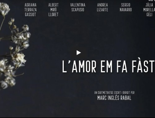 """""""L'amor em fa fàstic!"""" curtmetratge escrit i dirigit per Marc Inglés amb els alumnes de 4t d'ESAD"""