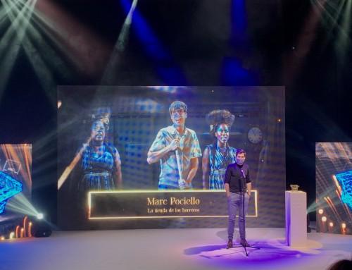 """Marc Pociello guanyador del Premi Butaca a Millor Actor de Musical per """"La Tienda de los Horrores"""""""