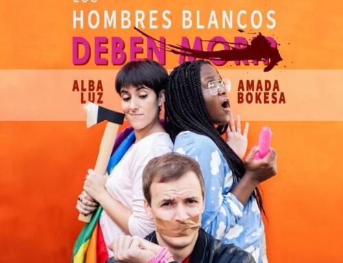 """Beloved Bokesa to """"All white men must die"""" at the Cincómonos Espai d'Art."""