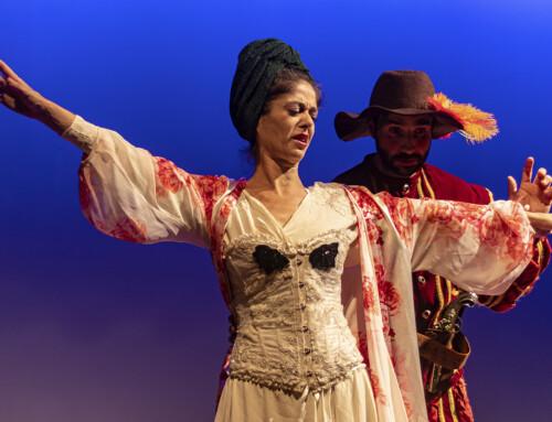 """""""L'HOSTAL DE L'AMOR"""", alumnes i exalumnes participen en el III FestiVers, el festival de teatre en vers al Teatre Eòlia."""