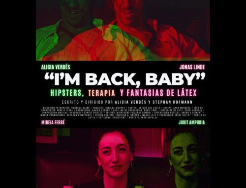 """Judit Ampudia and Mireia Ferré in the short """"I'M BACK, BABY"""" by Alicia Verdés and Jonas Linde."""