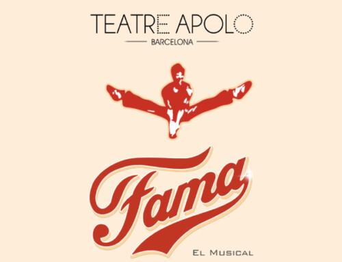 Clara Peteiro plays Carmen Díaz in FAMA EL MUSICAL at the Teatre Apolo.