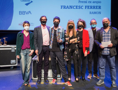 Francesc Ferrer, premi exaequo a Millor interpretació concedit per la l'AADPC als #PremiBBVATeatre 2021